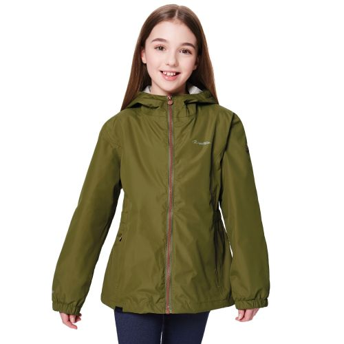 Regatta JACOBINA WATERPROOF SHELL JACKET - Utility Green